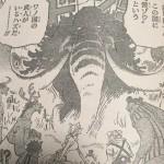 【ワンピース】カイドウ一味の中心核4名考察、第二幕終盤で見えること!