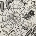 [技]蜘蛛の巣がきを放った時、既にドフラミンゴは敗北を覚悟していた?