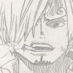 【ワンピース】843話のサンジの眉毛が左右反対なのは描きミスor心理描写?