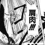 【ワンピース】肩肉(エポール)考察、止まらないサンジの連撃!