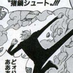 【ワンピース】猛進・猪鍋シュート考察、戦闘技としては未だ不使用っぽい!