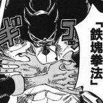 【ワンピース】鉄塊拳法・狼弾(おおかみはじき)考察、弾き飛ばし攻撃として優秀!