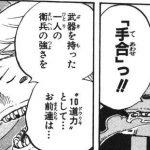 【ワンピース】六式遊技・手合わせ考察、定着しなかったもののわかりやすい戦闘力!