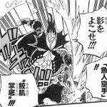 【ワンピース】鮫肌掌底(さめはだしょうてい)の強さ考察、うーん流石はモリアキラー!