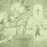 【ドクターストーン】第77話「科学の力」ネタバレ確定感想&考察、ダイナマイトの発明![→78話]