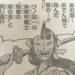 【ワンピース】残雪の菊之丞(お菊)に対する評価確定(970話時点)現時点での人物像!