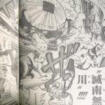 【ワンピース】滅南無川(メナム川)と外無双、侍としての河松について!