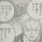 【ワンピース】牛鬼丸vsゾロ近し「成った刀についての案内人」本質について!