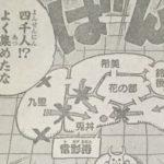 【ワンピース】ガバガバすぎるオロチの地図&花の都を通る必要性について!
