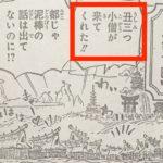 【ワンピース】959話小ネタ2点、理解しておくべきポイント!
