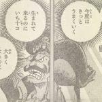 【ワンピース】「生まれてくるのにいち十コ」の解釈について!