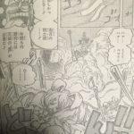 【ワンピース】1006話ネタバレ確定感想&考察、怒髪光拝が格好いい![→1007話]